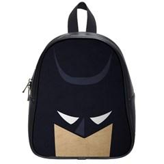 Batman School Bags (small)  by Brittlevirginclothing
