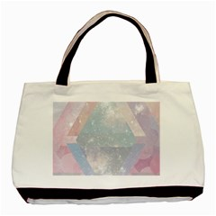 Colorful Pastel Crystal Basic Tote Bag by Brittlevirginclothing