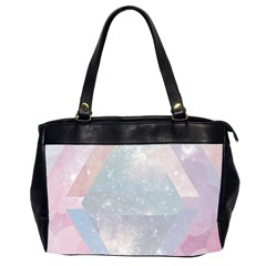 Colorful Pastel Crystal Office Handbags (2 Sides)  by Brittlevirginclothing