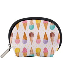 Colorful Ice Cream  Accessory Pouches (small)  by Brittlevirginclothing