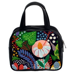 Japanese Inspired  Classic Handbags (2 Sides) by Brittlevirginclothing