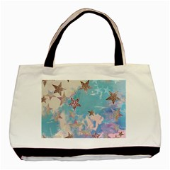 Pastel Colored Stars  Basic Tote Bag (two Sides) by Brittlevirginclothing