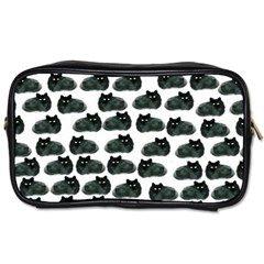 Black Cat Toiletries Bags 2 Side by Brittlevirginclothing