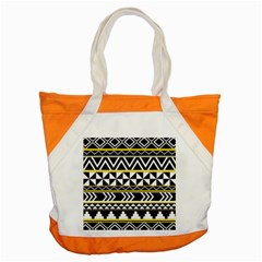 Black Bohemian Accent Tote Bag by Brittlevirginclothing