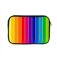 Fading Rainbow Apple Macbook Pro 15  Zipper Case by Brittlevirginclothing