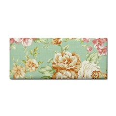 Vintage Pastel Flowers Cosmetic Storage Cases by Brittlevirginclothing