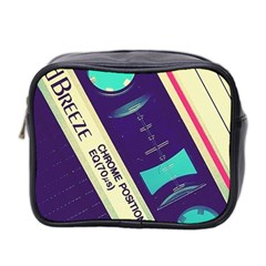 Vintage Casette  Mini Toiletries Bag 2 Side by Brittlevirginclothing