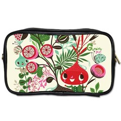 Cute Flower Cartoon  Characters  Toiletries Bags 2 Side by Brittlevirginclothing