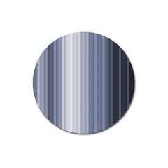 Gray Line Magnet 3  (round) by Jojostore
