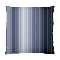 Gray Line Standard Cushion Case (two Sides) by Jojostore