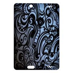 Gray Batik Blue Amazon Kindle Fire Hd (2013) Hardshell Case by Jojostore