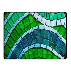 Green Fleece Blanket (small) by Jojostore