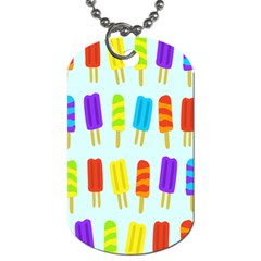 Popsicle Dog Tag (two Sides) by Jojostore