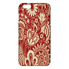Red Flower White Wallpaper Organic Iphone 6 Plus/6s Plus Tpu Case by Jojostore
