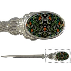Detail Of The Collection s Floral Pattern Letter Openers by Jojostore