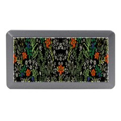 Detail Of The Collection s Floral Pattern Memory Card Reader (mini) by Jojostore