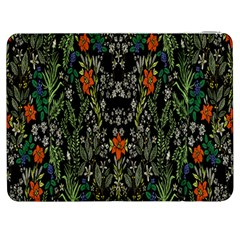 Detail Of The Collection s Floral Pattern Samsung Galaxy Tab 7  P1000 Flip Case by Jojostore