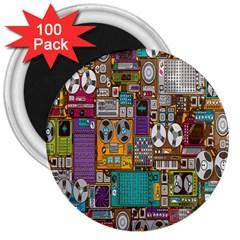 Rol The Film Strip 3  Magnets (100 Pack) by Jojostore