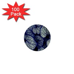 Leaf Purple 1  Mini Buttons (100 Pack)  by Jojostore