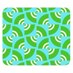 Easy Peasy Lime Squeezy Green Double Sided Flano Blanket (small)  by Jojostore