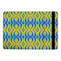 Blue Yellow Samsung Galaxy Tab Pro 10 1  Flip Case by Jojostore