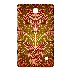 European Fine Batik Flower Brown Samsung Galaxy Tab 4 (8 ) Hardshell Case  by Jojostore