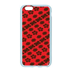 Diogonal Flower Red Apple Seamless iPhone 6/6S Case (Color) by Jojostore