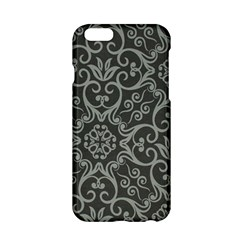 Flower Batik Gray Apple Iphone 6/6s Hardshell Case by Jojostore