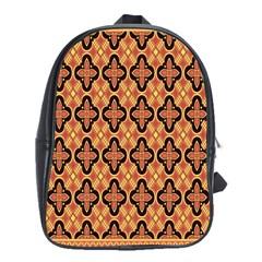Flower Batik School Bags (xl)  by Jojostore