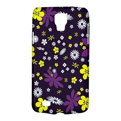 Floral Purple Flower Yellow Galaxy S4 Active by Jojostore