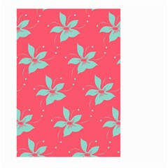 Flower Green Red Large Garden Flag (two Sides) by Jojostore