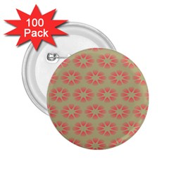 Flower Pink 2 25  Buttons (100 Pack)  by Jojostore