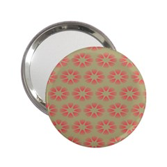 Flower Pink 2.25  Handbag Mirrors by Jojostore