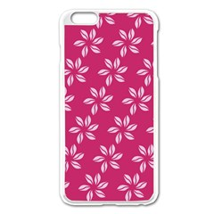 Flower Roses Apple iPhone 6 Plus/6S Plus Enamel White Case by Jojostore