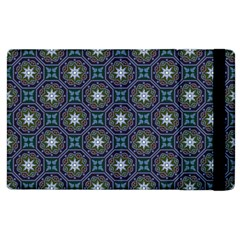 Flower Star Gray Apple Ipad 3/4 Flip Case by Jojostore