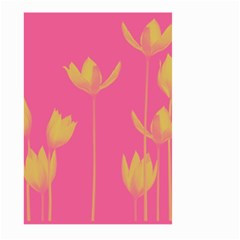 Flower Yellow Pink Large Garden Flag (two Sides) by Jojostore