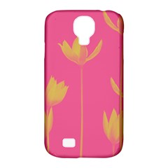 Flower Yellow Pink Samsung Galaxy S4 Classic Hardshell Case (pc+silicone) by Jojostore