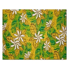 Flower Yellow Rectangular Jigsaw Puzzl by Jojostore