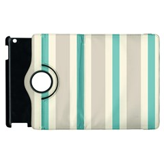 Gray Blue Apple Ipad 2 Flip 360 Case by Jojostore