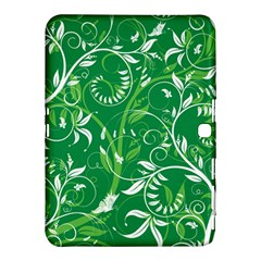 Leaf Flower Butterfly Green Samsung Galaxy Tab 4 (10.1 ) Hardshell Case  by Jojostore