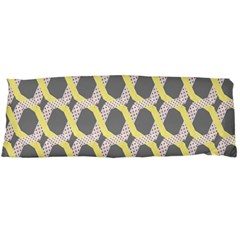 Hearts And Yellow Washi Zigzags Tileable Body Pillow Case Dakimakura (two Sides) by Jojostore