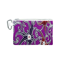 Batik Jogja Canvas Cosmetic Bag (s) by Jojostore