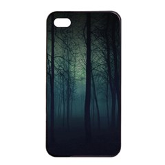 Dark Forest Apple Iphone 4/4s Seamless Case (black) by Brittlevirginclothing