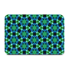 Flower Green Plate Mats by Jojostore