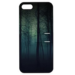 Dark Forest Apple Iphone 5 Hardshell Case With Stand by Brittlevirginclothing