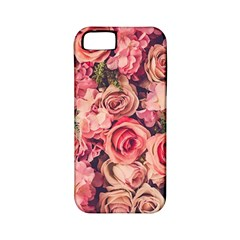 Gorgeous Pink Roses Apple Iphone 5 Classic Hardshell Case (pc+silicone) by Brittlevirginclothing
