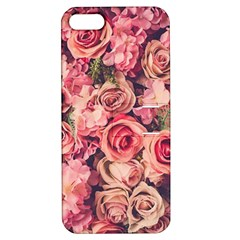 Gorgeous Pink Roses Apple Iphone 5 Hardshell Case With Stand by Brittlevirginclothing