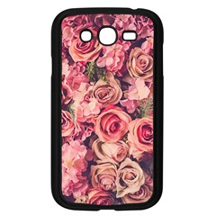 Gorgeous Pink Roses Samsung Galaxy Grand Duos I9082 Case (black)