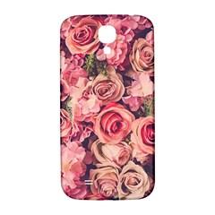 Gorgeous Pink Roses Samsung Galaxy S4 I9500/i9505  Hardshell Back Case by Brittlevirginclothing