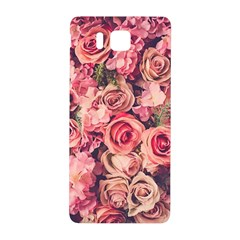 Gorgeous Pink Roses Samsung Galaxy Alpha Hardshell Back Case by Brittlevirginclothing
